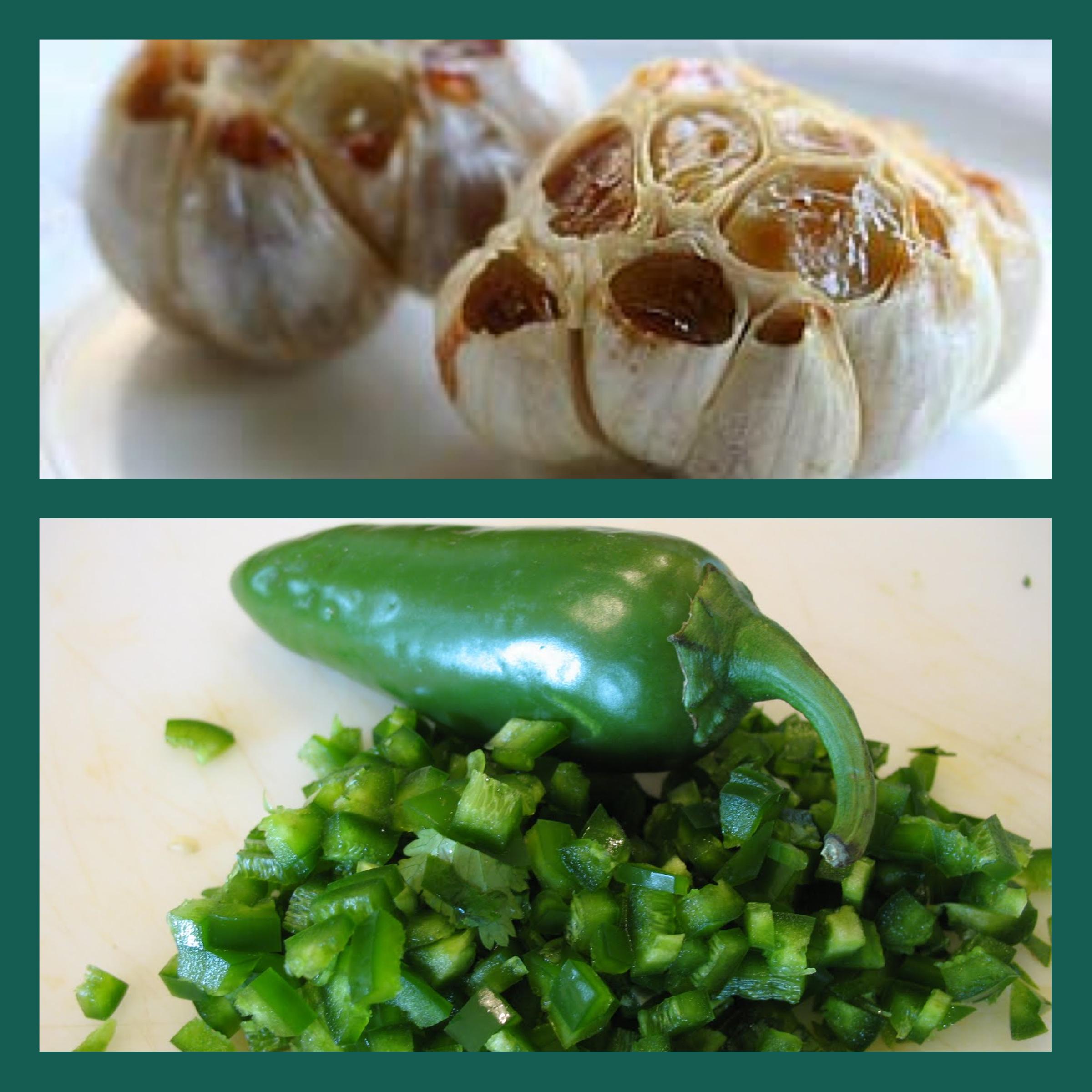 Roasted Garlic Salsa