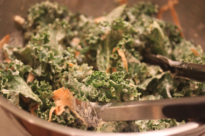 Kale Slaw with Russian Dressing from Maximum Flavors