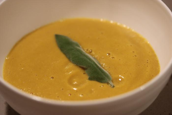 Vitamix Holiday Squash Soup
