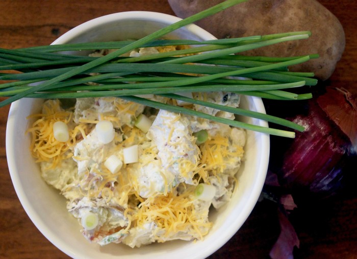 Loaded Potato Salad from Lunch by Gale Gand