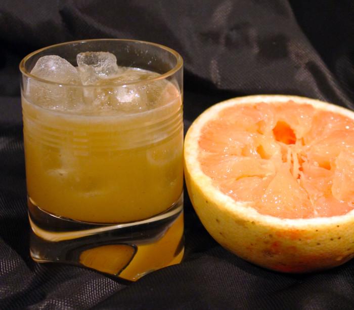 Grapefruit Margarita with Habanero Syrup
