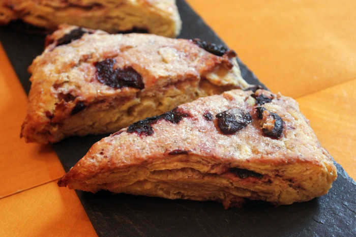 Mother's Sweet White Scones from Darina Allen [and a comparison!]