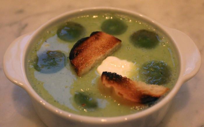 Brian's Green Gazpacho