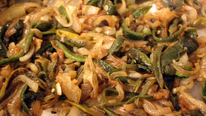 Caramelized Rajas