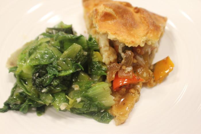 Vegetable Crostata with Honey-Thyme Glaze