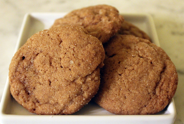 Ginger Molasses Cookies from Flour by Joanne Chang