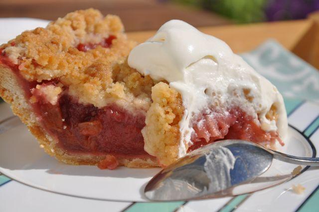 Strawberry Rhubarb Pie from Ken Haedrich