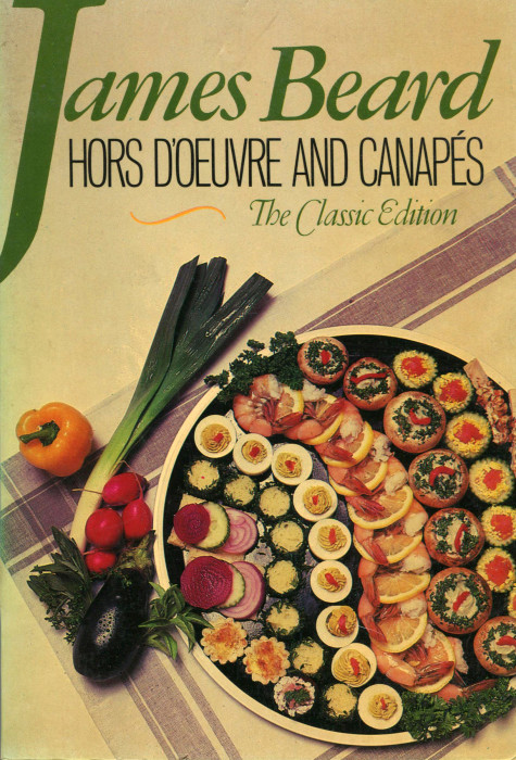 Tbt cookbook review hors doeuvre and canaps by james beard in the 1930s a man named james beard moved from the pacific northwest to his city of destiny new york the ultimate gourmand beard and some friends forumfinder Gallery