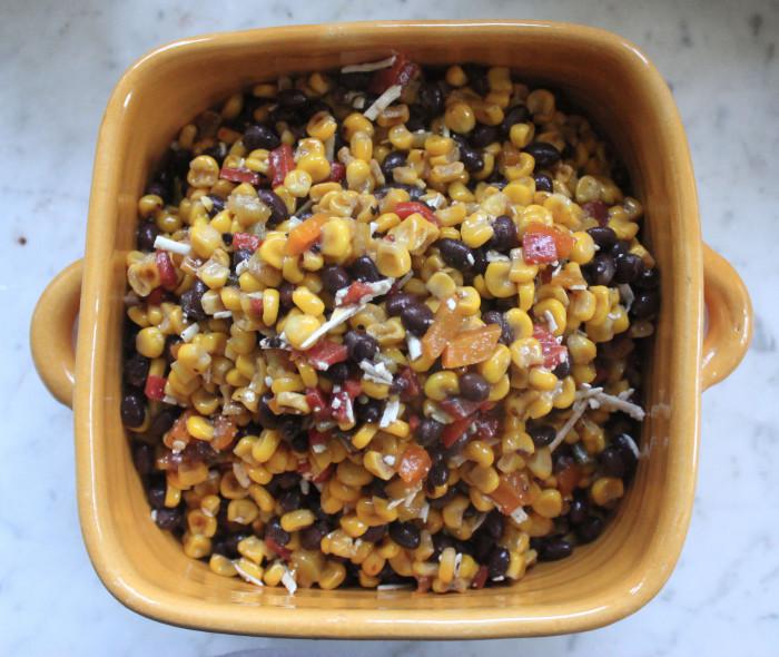 Fresh Corn and Black Bean Salad from I Love Corn by Lisa Skye