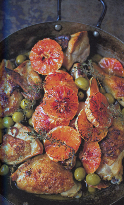 Chicken with marsala olives and blood oranges from a bird in the chicken with marsala olives and blood oranges from a bird in the hand by diana henry forumfinder Choice Image