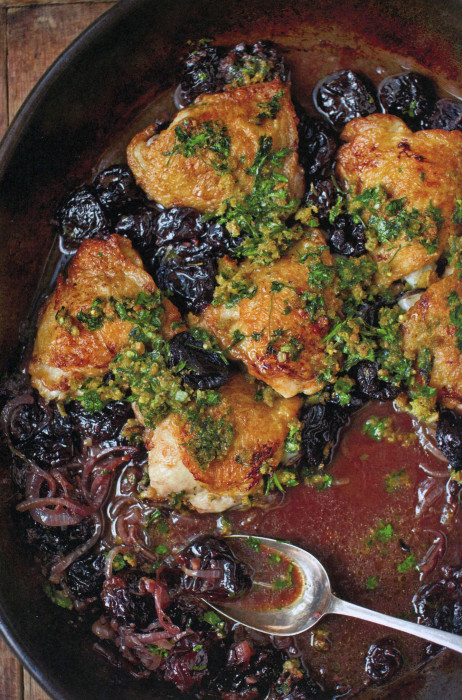 Chicken with prunes in red wine sauce from a bird in the hand by chicken with prunes in red wine sauce from a bird in the hand by diana henry forumfinder Choice Image