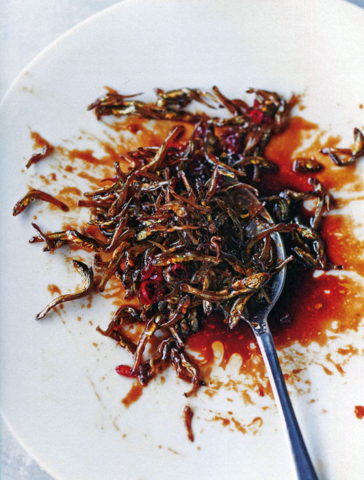Cookbook review k food korean home cooking and street food by da wc candied anchovies forumfinder Image collections