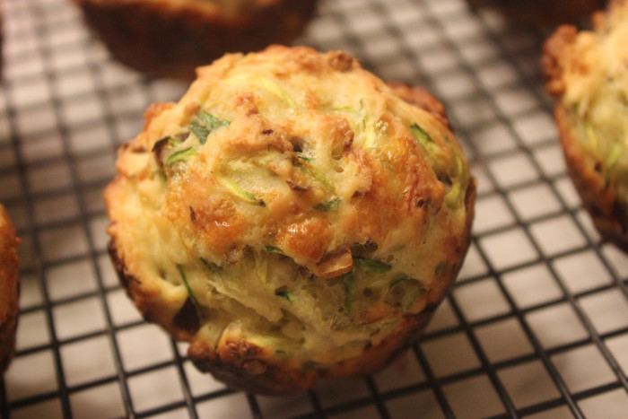 Garlic Green Muffins from Garlic by Jenny Linford
