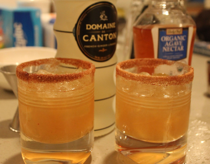 Spicy Sidecar with Domaine Canton from the Red Onion