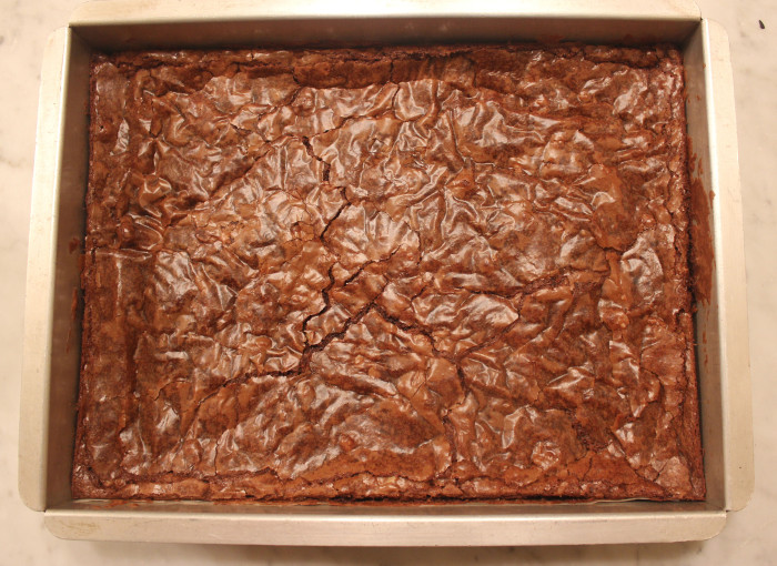 Recipe Redux: Chocolate Fudge Brownies from Brownies Blondies and Other Traybakes from Ryland Peters & Small