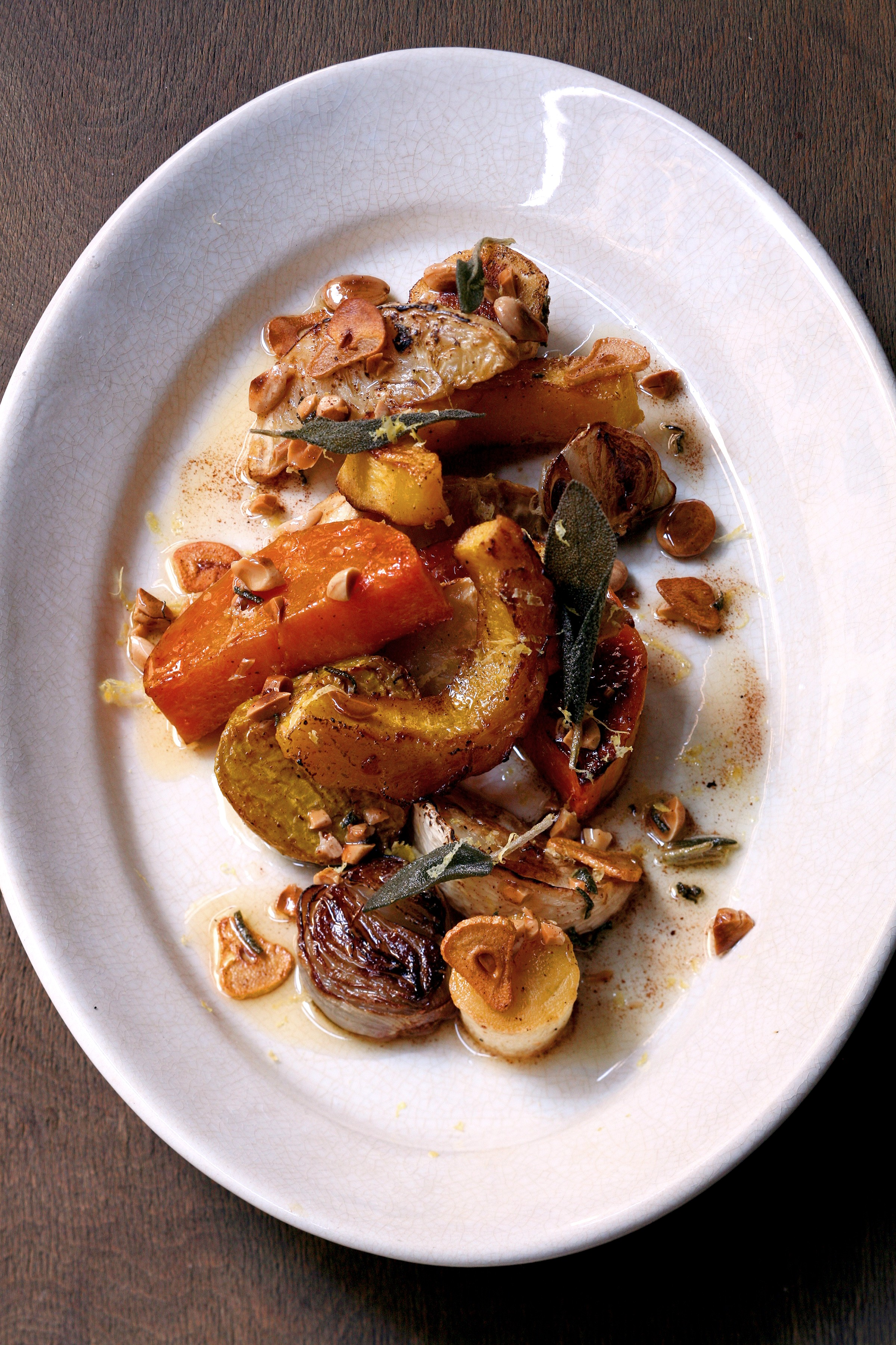 TBT Cookbook Review and Recipe: Fresh from the Market and Roasted Root Vegetable Salad with Marcona Almonds