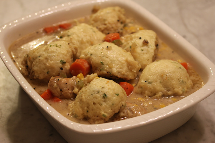 TBT Recipe: Chicken with Rosemary Dumplings