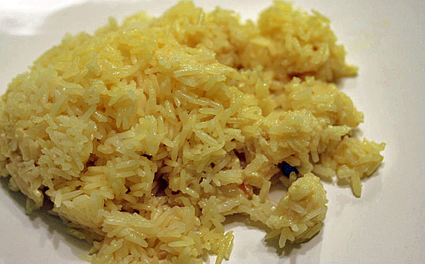 Coconut Rice from Madhur Jaffrey | Cooking by the Book