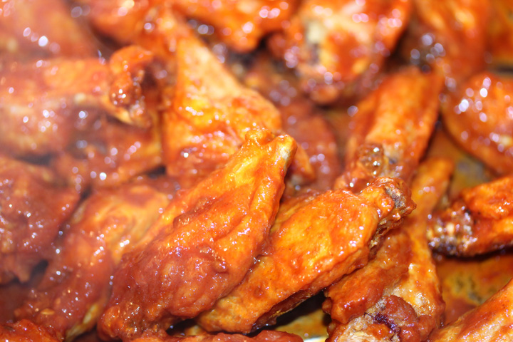 Super Bowl Idea: Santa Fe Chicken Wings