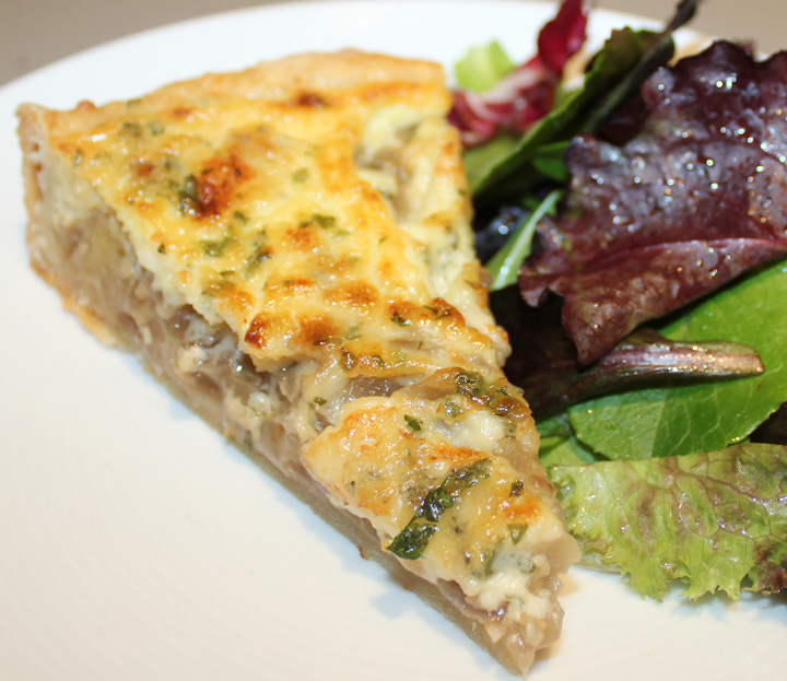 Gorgonzola and Caramelized Onion Tart