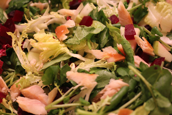 Smoked Trout Salad