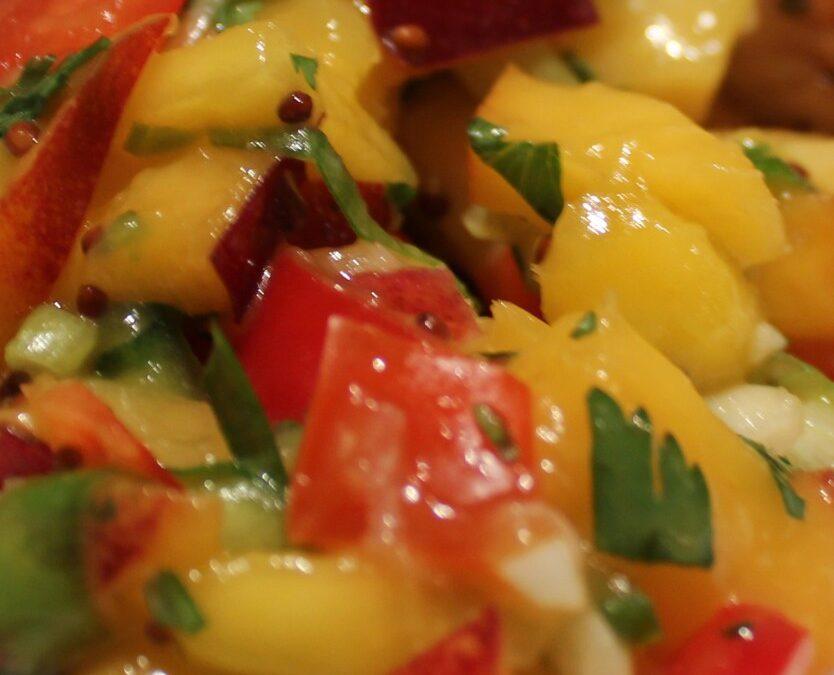 Mango and Mustard Salsa