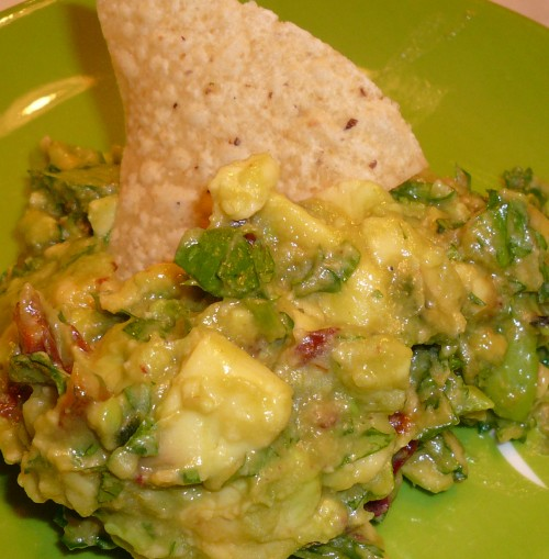 Spicy Guacamole from James Peterson