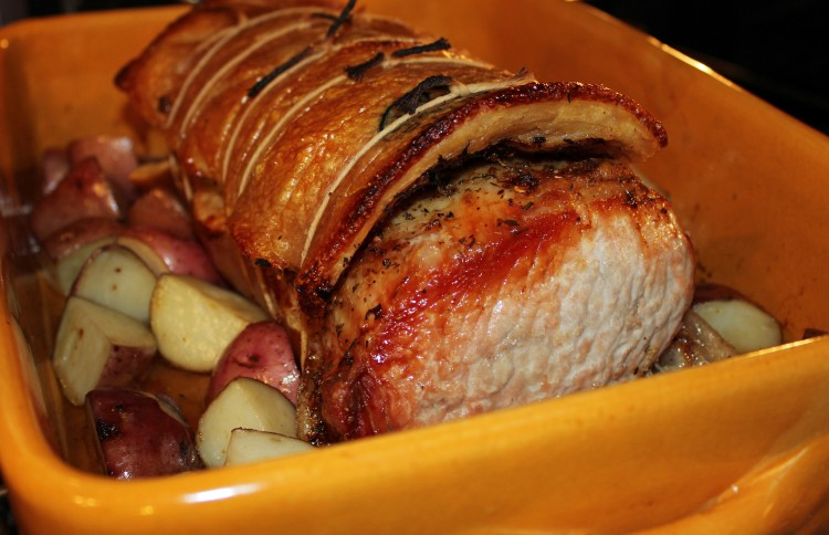 Oven Roasted Porchetta: From the Beard Award Winning All About Roasting