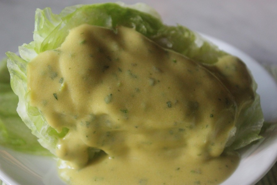 TBT Recipe: Frozen Iceberg Salad with Champagne Vinegar