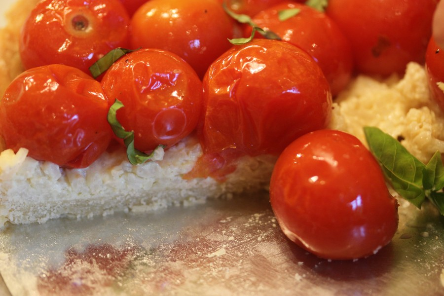 TBT Recipe: Semi-Confit Cherry Tomato Tart