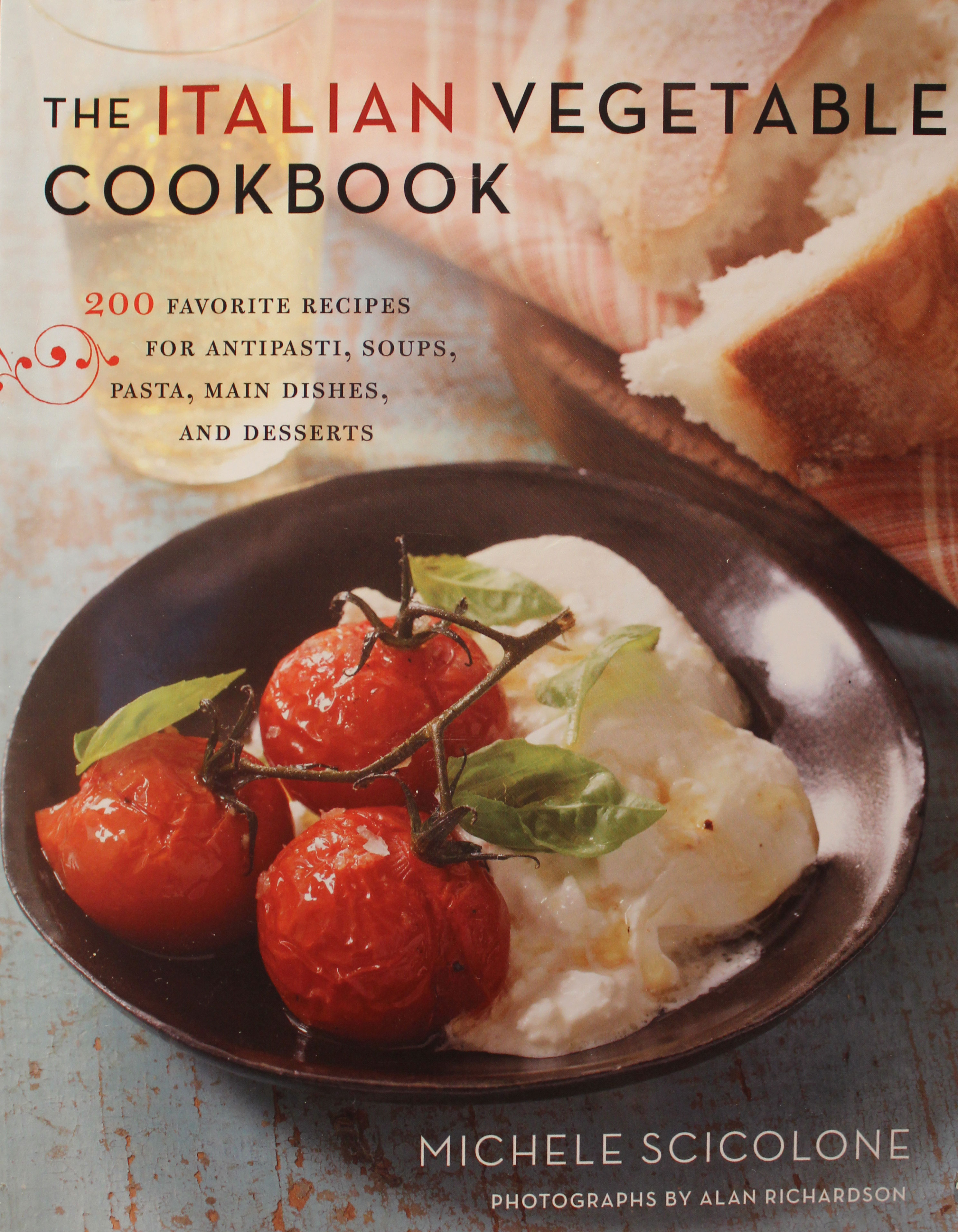 TBT Cookbook Review: The Italian Vegetable Cookbook by Michele Scicolone