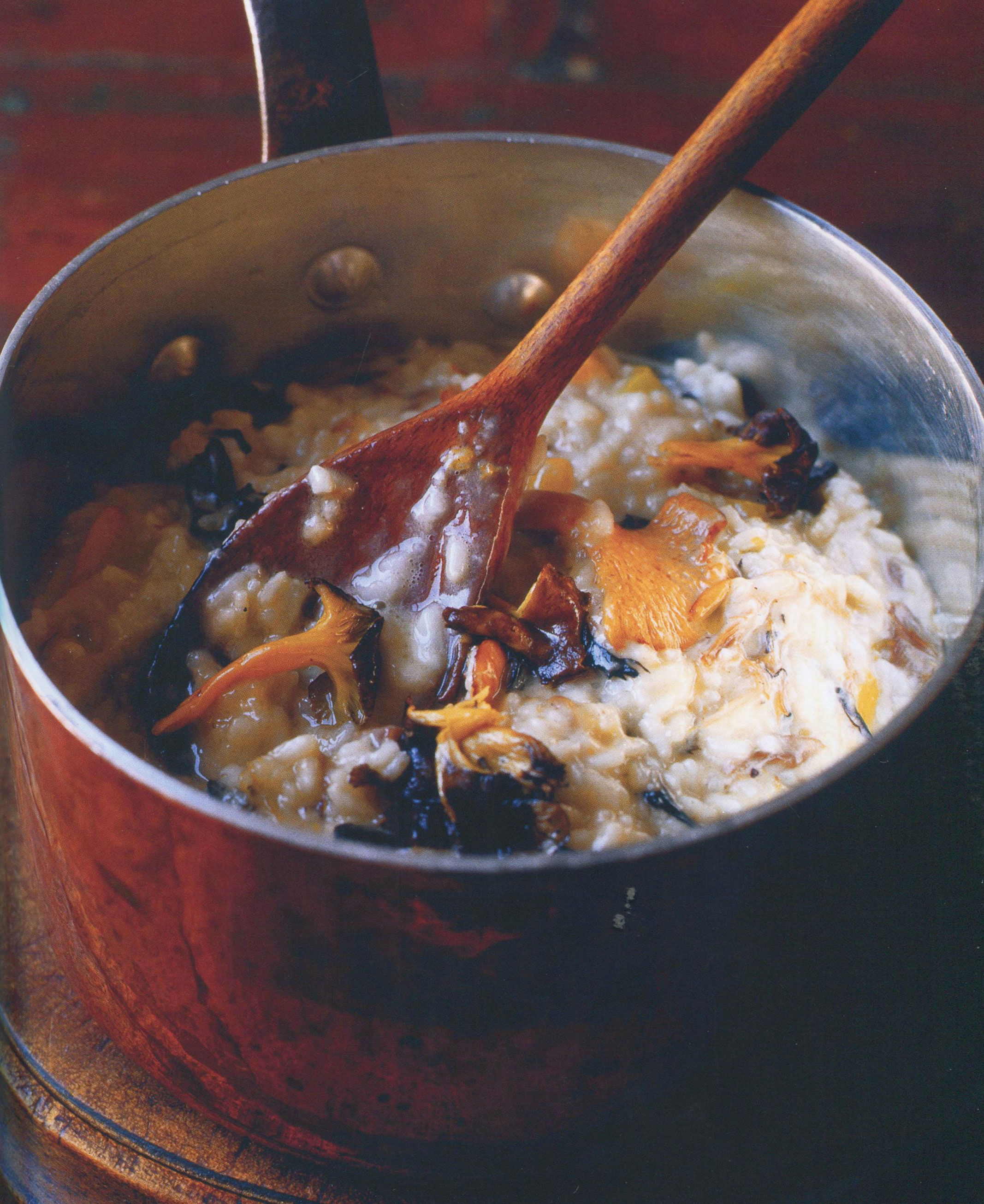 TBT Recipe: Wild Mushroom and Duck Risotto with Seasonal Variations