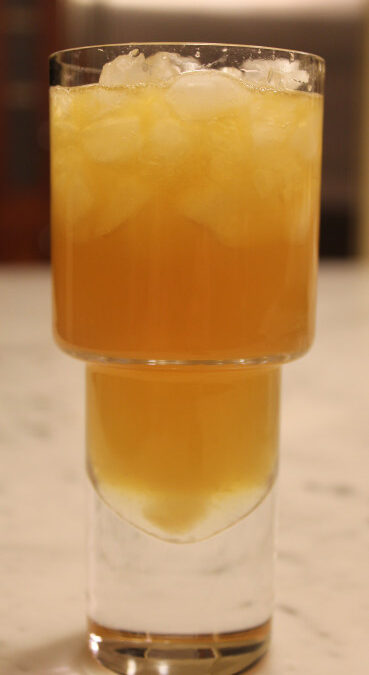 TBT Recipe: Brian's Bourbon Blast Cocktail with Ginger Simple Syrup