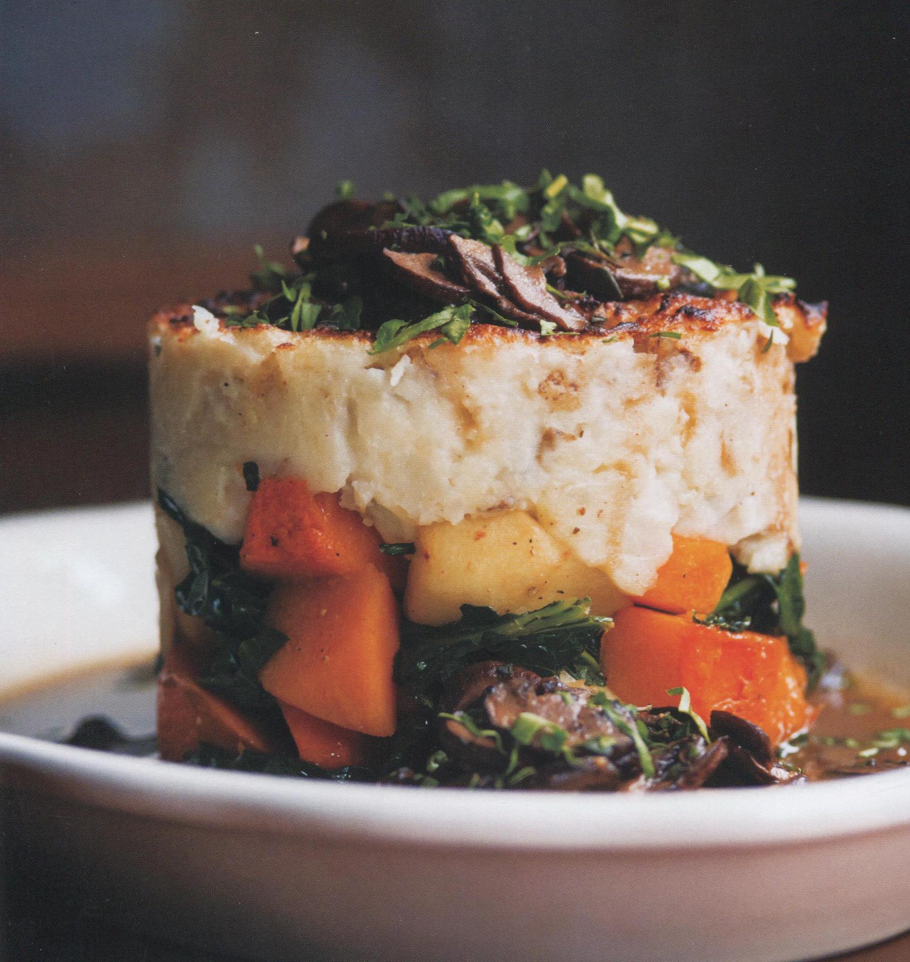 TBT Recipe: Vegetable Shepherd's Pie with Mushroom Sauce