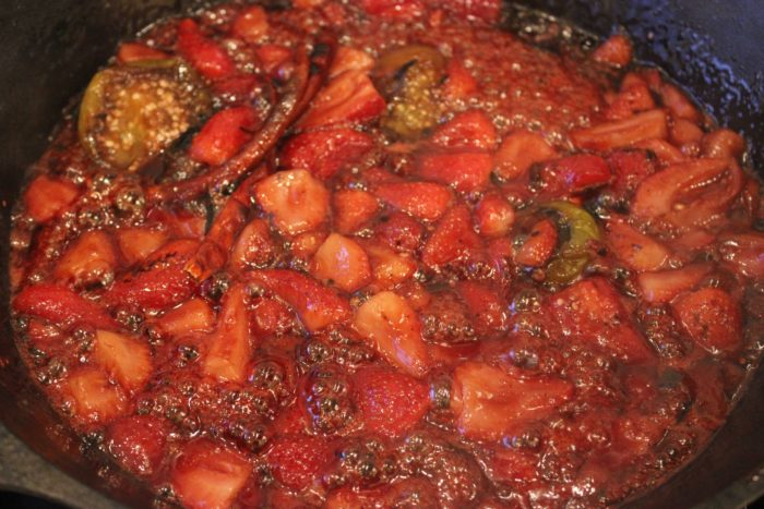 Cinco de Mayo Idea: Sweet Strawberry Salsa with Arbol Chiles