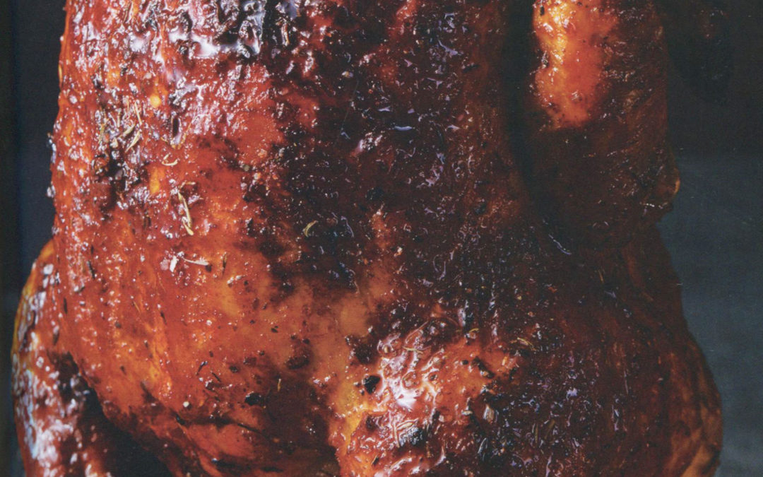 Beer-Can Sticky Chicken with Honey-Soy BBQ Sauce from The South's Best Butts