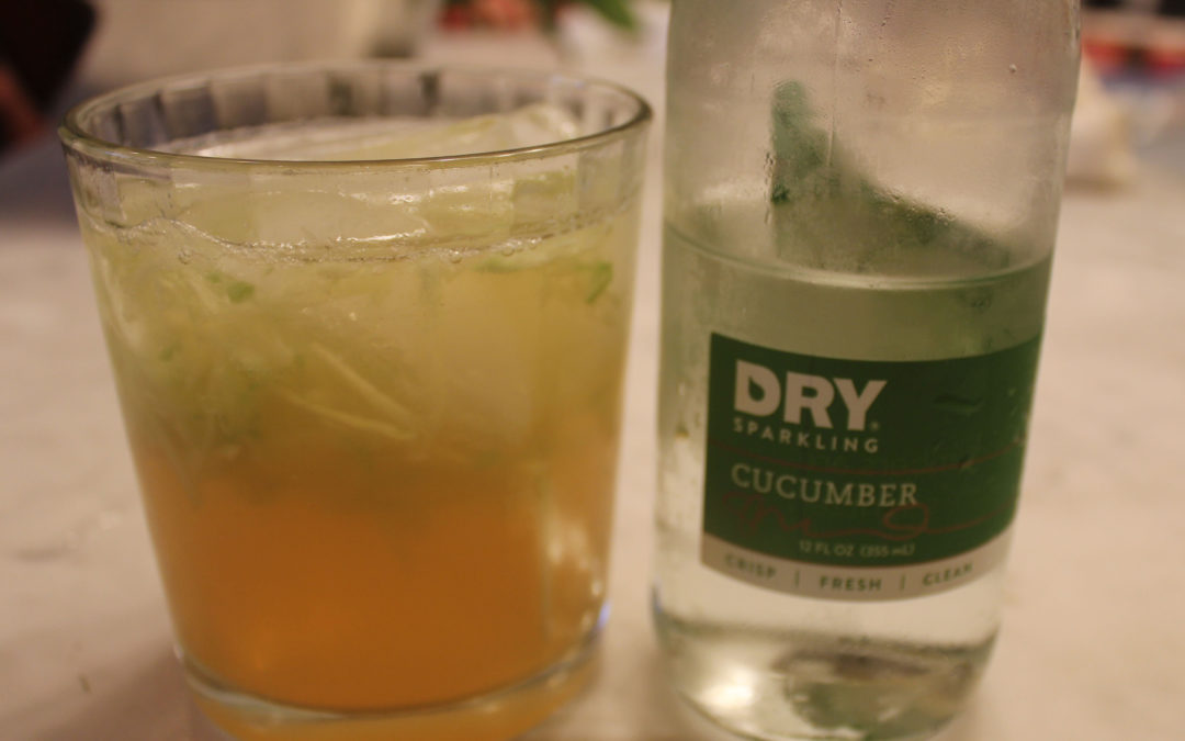 Cucumber and Mint Cooler from Wild Drinks and Cocktails by Emily Han