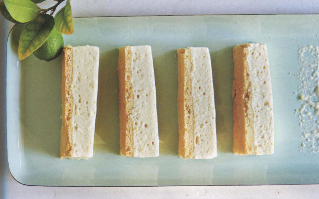 Lemon-Lime Icebox Bars from Sprinkles