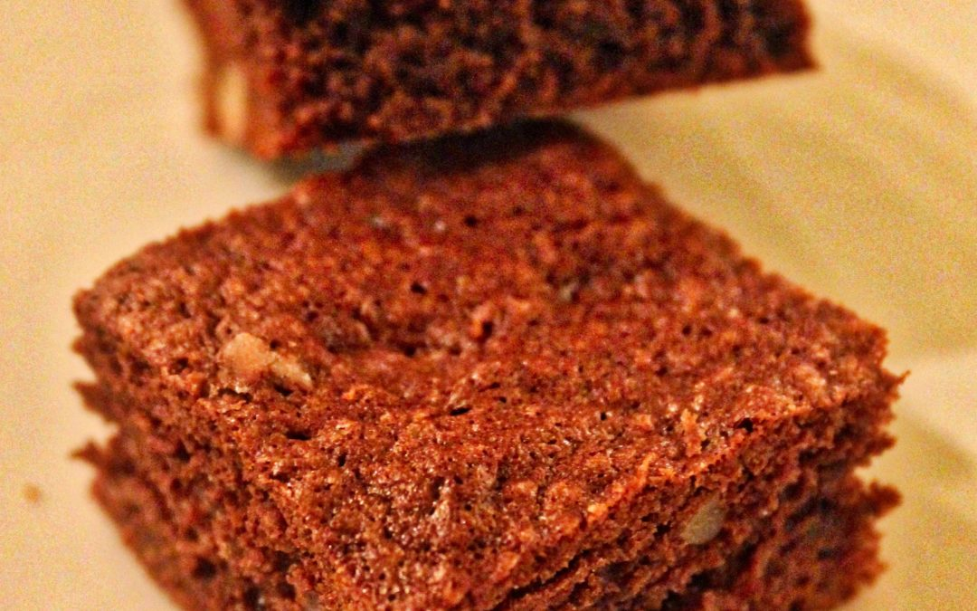 Brownies from French Patisserie by Ecole Ferrandi