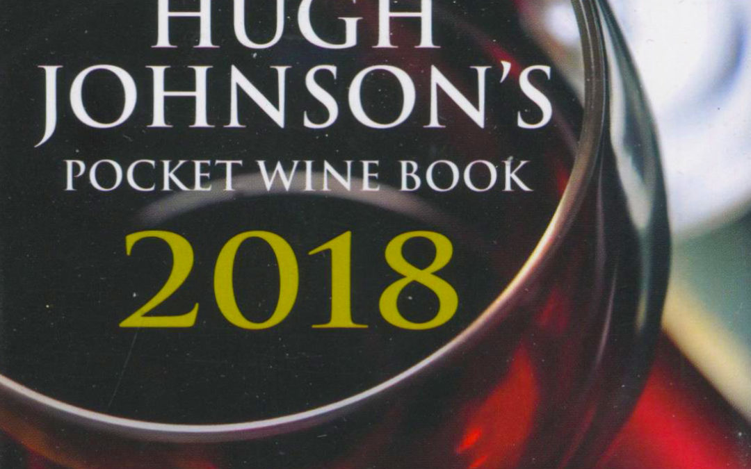 Cookbook Review: Hugh Johnson's Pocket Wine Guide 2018