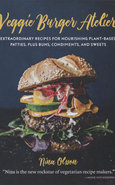 Cookbook Review: Veggie Burger Atelier by Nina Olsson