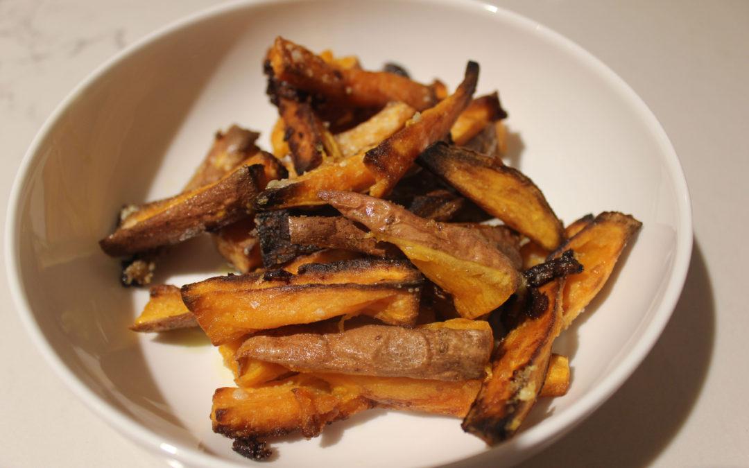 Very, Very, Very Easy Baked Sweet Potato Fries