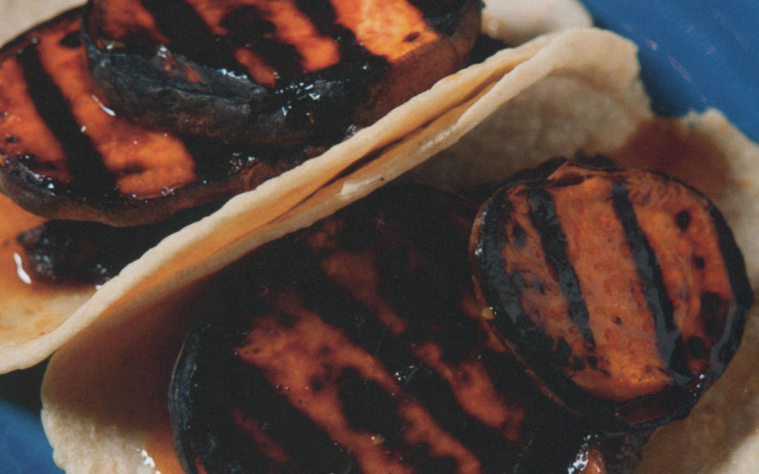 Grilled Sweet Potato Tacos from Ivy Stark in Dos Caminos Tacos