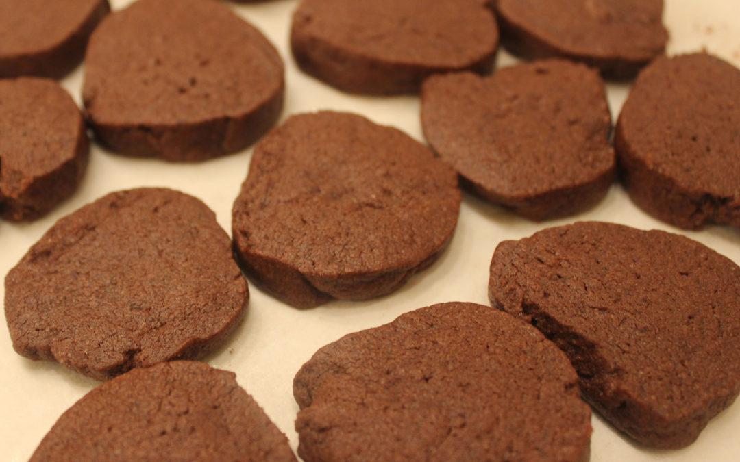 Cocoa and Espresso Wafers from The Good Cookie by Tish Boyle