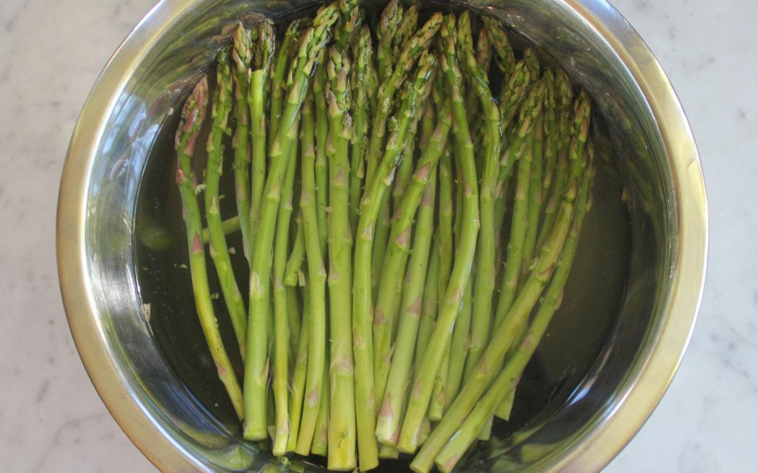 Simple Roasted Spring Asparagus