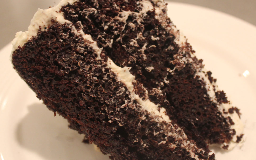 Devil's Food Cake with Fluffy White Frosting from Diner Desserts by Tish Boyle