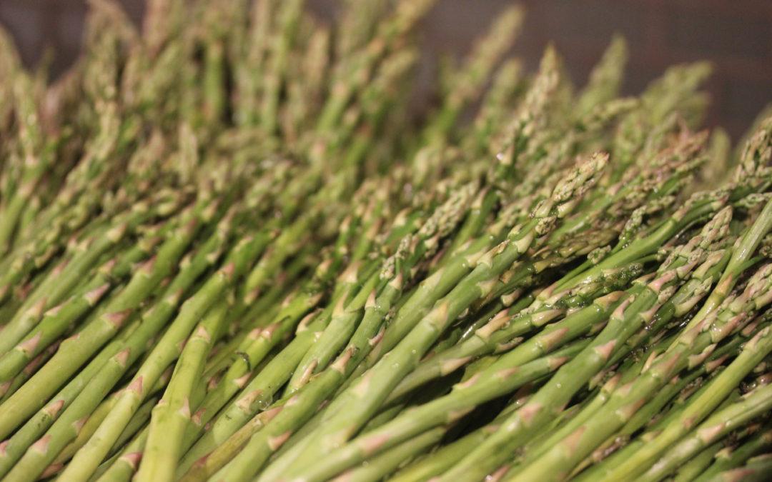 TBT Recipe: Asparagus with Mushrooms in Tarragon Cream