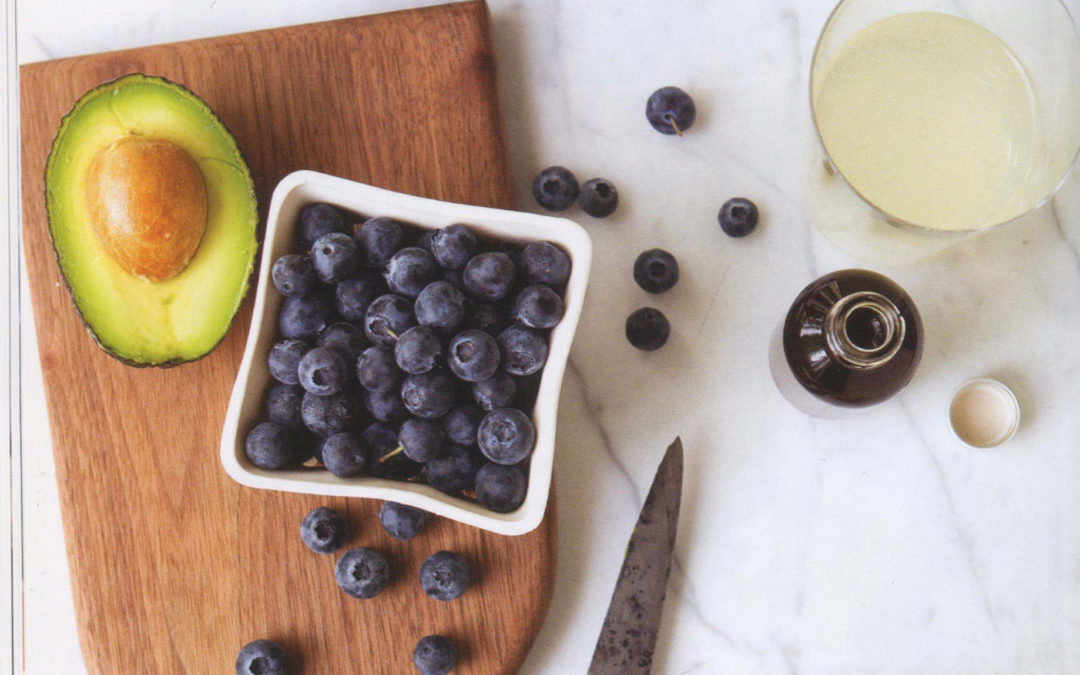 Blueberry and Avocado Superfood Smoothie