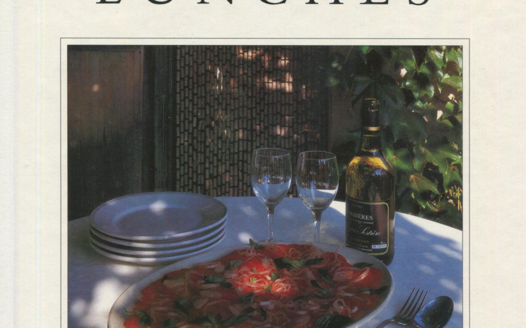 TBT Cookbook Review: Ten Vineyard Lunches by Richard Olney