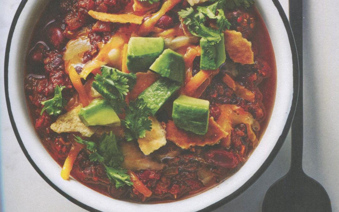Quinoa Chili from The Minimalist Kitchen